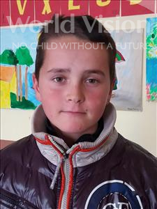 Choose a child to sponsor, like this little boy from Shkodra, Ermal age 12