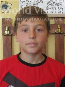 Choose a child to sponsor, like this little boy from Shkodra, Ledio age 12