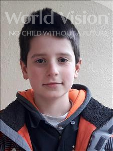 Choose a child to sponsor, like this little boy from Shkodra, Pjeter age 10