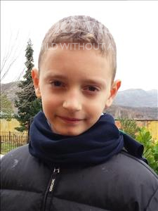 Choose a child to sponsor, like this little boy from Shkodra, Refael age 9
