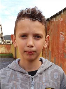 Choose a child to sponsor, like this little boy from Shkodra, Paulo age 11