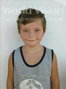 Choose a child to sponsor, like this little boy from Shkodra, Mikael age 7