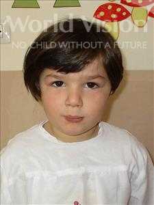 Choose a child to sponsor, like this little girl from Shkodra, Vjola age 5