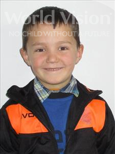Choose a child to sponsor, like this little boy from Shkodra, Mateo age 4