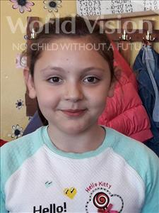 Choose a child to sponsor, like this little girl from Shkodra, Gledisa age 9