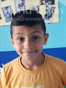 Choose a child to sponsor, like this little boy from Shkodra, Anes age 9