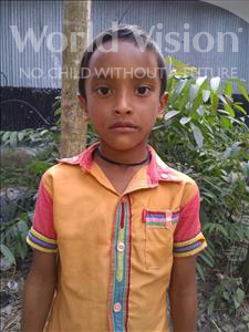 Choose a child to sponsor, like this little boy from Ghoraghat, Dipu age 8