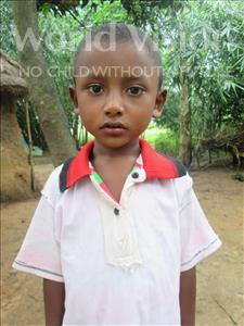 Choose a child to sponsor, like this little boy from Ghoraghat, Prodip age 6