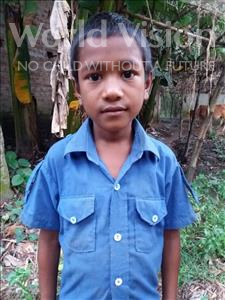 Choose a child to sponsor, like this little boy from Ghoraghat, Sadhon age 10