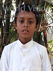 Choose a child to sponsor, like this little boy from Ghoraghat, Masudul age 10
