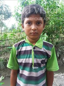 Choose a child to sponsor, like this little boy from Ghoraghat, Robiul age 8
