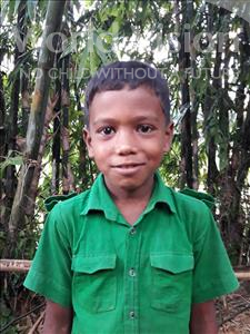 Choose a child to sponsor, like this little boy from Ghoraghat, Morsalin age 9