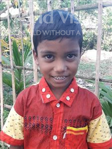 Choose a child to sponsor, like this little boy from Ghoraghat, Abdullah age 6