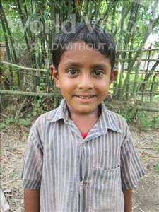 Choose a child to sponsor, like this little boy from Ghoraghat, Md Hossain age 5