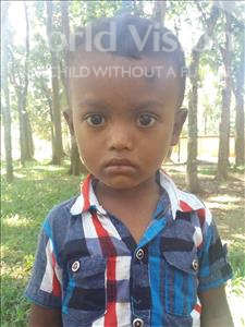 Choose a child to sponsor, like this little boy from Ghoraghat, Emon age 4