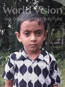 Choose a child to sponsor, like this little boy from Ghoraghat, Ramim Hasan age 7