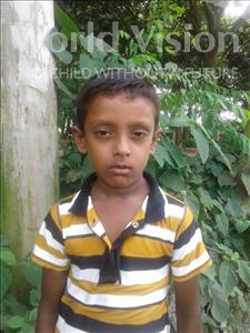 Choose a child to sponsor, like this little boy from Ghoraghat, Murad age 6