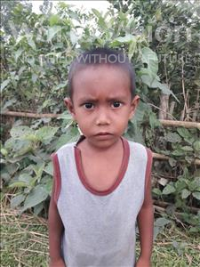 Choose a child to sponsor, like this little boy from Ghoraghat, Abdulla age 4