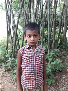 Choose a child to sponsor, like this little boy from Ghoraghat, Robiul age 6