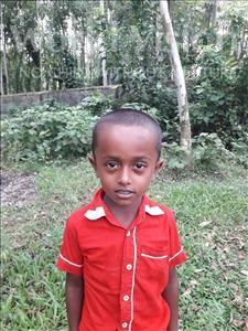 Choose a child to sponsor, like this little boy from Ghoraghat, Abu Sayeed Siyam age 6