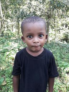 Choose a child to sponsor, like this little boy from Ghoraghat, Prosenjit age 3