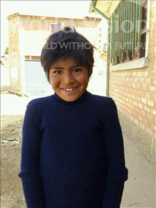 Choose a child to sponsor, like this little boy from Mosoj Punchay, Ismael age 9