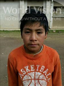 Choose a child to sponsor, like this little boy from Mosoj P'unchay, Max Fernando age 9