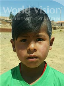 Choose a child to sponsor, like this little boy from Mosoj P'unchay, Richar age 7