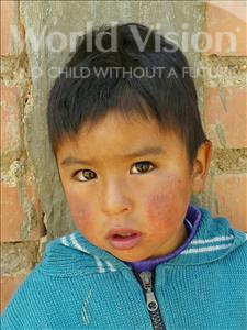 Choose a child to sponsor, like this little boy from Mosoj Punchay, Jose Anton age 3