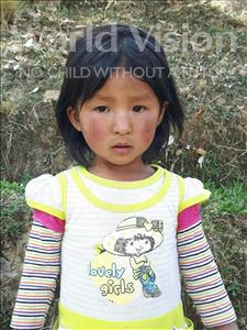 Choose a child to sponsor, like this little girl from Mosoj Punchay, Nieves age 3