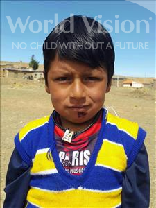 Choose a child to sponsor, like this little boy from Mosoj Punchay, Beimar age 6