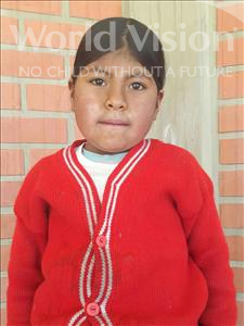 Choose a child to sponsor, like this little girl from Mosoj Punchay, Severiana age 8