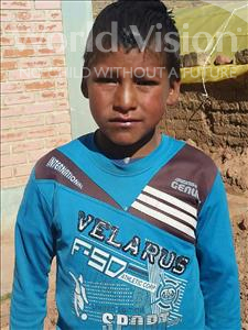 Choose a child to sponsor, like this little boy from Mosoj Punchay, Carlos age 9