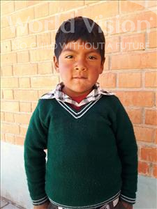 Choose a child to sponsor, like this little boy from Khantati, Ronald age 5