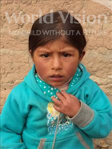 Choose a child to sponsor, like this little girl from Khantati, Rita age 3