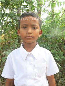Choose a child to sponsor, like this little boy from Soutr Nikom, Bunrith age 10