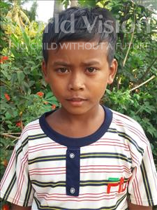 Choose a child to sponsor, like this little boy from Soutr Nikom, Sok Y age 11