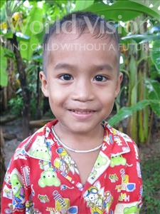 Choose a child to sponsor, like this little boy from Soutr Nikom, Lymuoy age 5