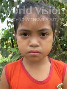 Choose a child to sponsor, like this little girl from Soutr Nikom, Rika age 5