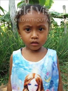 Choose a child to sponsor, like this little girl from Soutr Nikom, Nita age 3