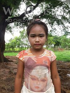 Choose a child to sponsor, like this little girl from Soutr Nikom, Theara age 9
