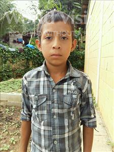 Choose a child to sponsor, like this little boy from Maya, Breily Anael age 11