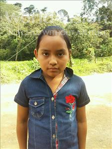 Choose a child to sponsor, like this little girl from Maya, Ruth age 10