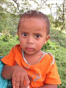 Choose a child to sponsor, like this little boy from Maya, Ismael de Jesus age 3