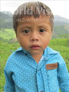 Choose a child to sponsor, like this little boy from Maya, Weldin Reinaldo age 3