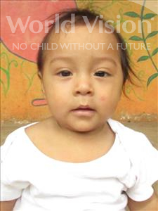 Choose a child to sponsor, like this little boy from Maya, Jimy Aldubi age 2