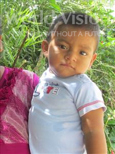Choose a child to sponsor, like this little boy from Maya, Frelin Jesiel age 2