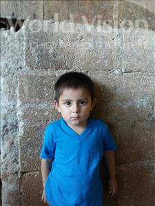 Choose a child to sponsor, like this little boy from Maya, Claudio Francisco age 3