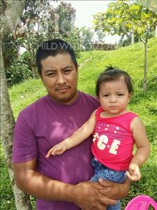 Choose a child to sponsor, like this little girl from Maya, Patricia Lizeth age 2