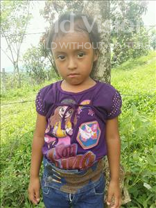 Choose a child to sponsor, like this little girl from Maya, Sindy Yareli age 4